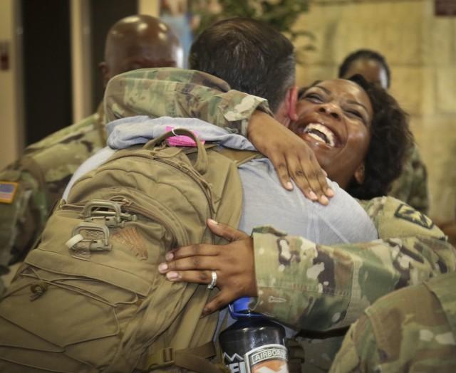 A Smile and a Welcome Home Hug