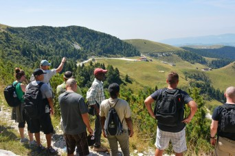 Staff ride focuses on Mount Grappa battlefields, fosters NATO alliance