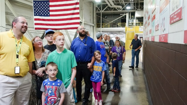 Children gather at RIA-JMTC for 9th annual Safety Poster Contest