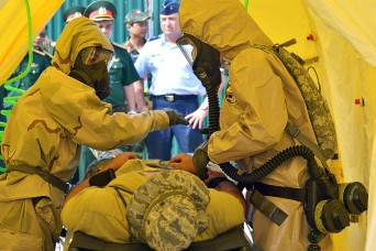 Partnership between Oregon and Vietnamese CBRNE teams increase interoperability through training
