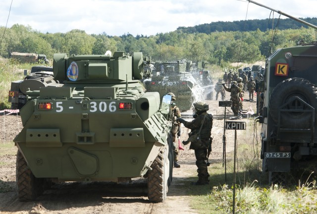 Ukrainian Simulation Centre opens with Multinational visitors