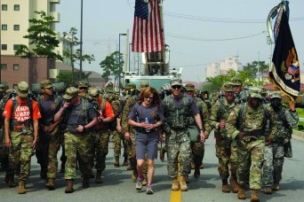 Seventh annual 9/11 Memorial Rucksack March honored those we lost
