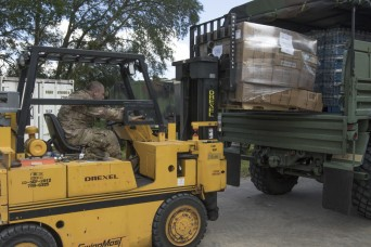New Jersey National Guard Lends a hand to Florida