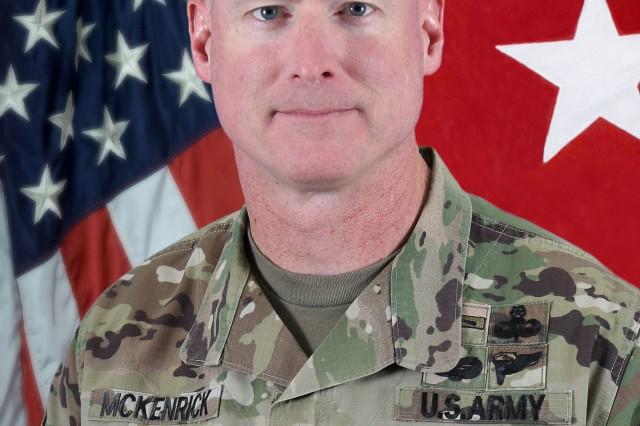 Maj. Gen. Terrence J. McKenrick