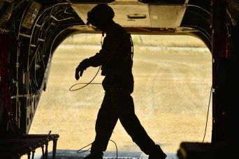 Oregon Army National Guard aviators douse wildfires across the state