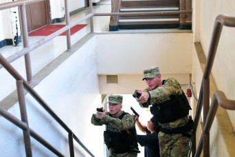 8th TSC takes on active-shooter training