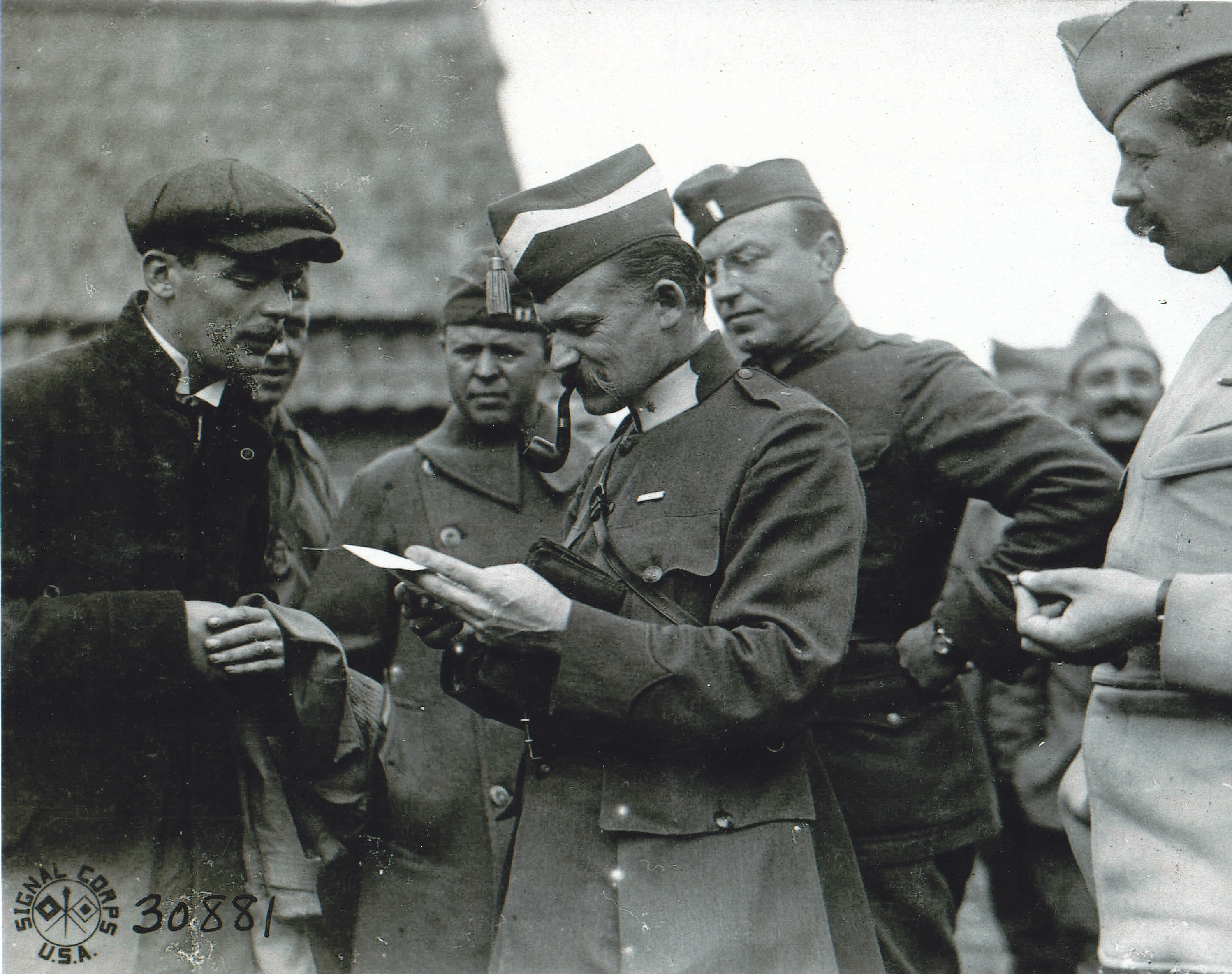 Intelligence Police Established In Wwi American
