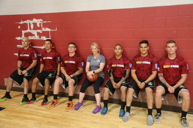 """Coach Brandi Binkley and BOSS Strong Team """"Able"""""""