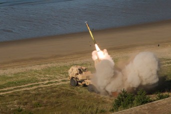 CONUS based artillery unit conducts live fire mission