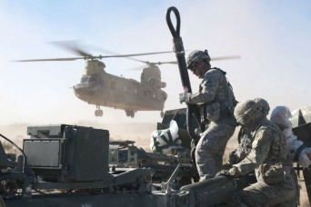 Thunder in the sky: Soldiers demonstrate power and lethality in field artillery exercise