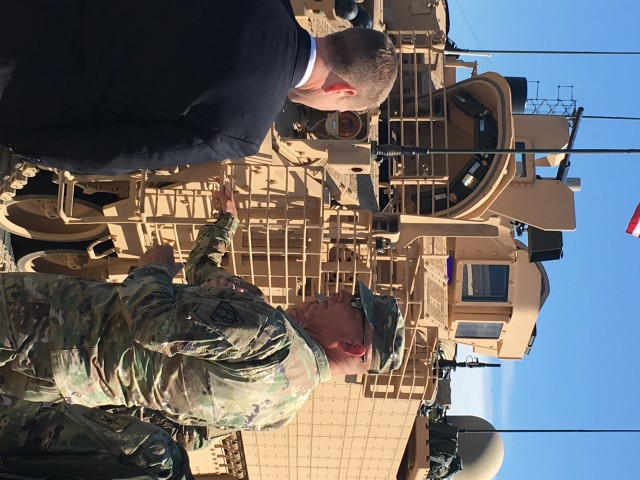 Army Secretary talks readiness and modernization during visit to APG