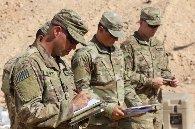 From Kuwait To Cairo Army Cavalry Troops Strengthen