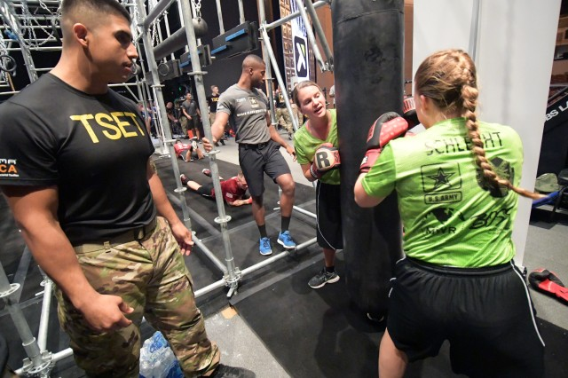 Marines get Total Soldier Enhancement Training at BOSS Strong Championship