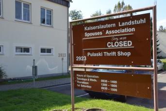 Kaiserslautern Landstuhl Spouses' Association continues efforts at Landstuhl Thrift Shop