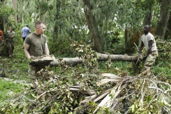 Army, military officials outline hurricane relief efforts