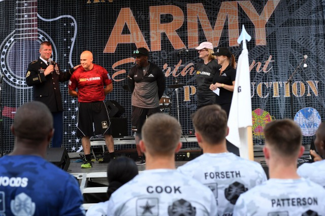 Pfc. Joey Biggers shares emotional story at BOSS Strong Championship