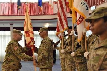 Garrison welcomes its highest enlisted leader