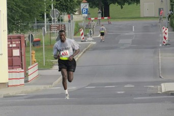 IRAHC Soldier's journey starts in Africa, trains for Army-Ten Miler