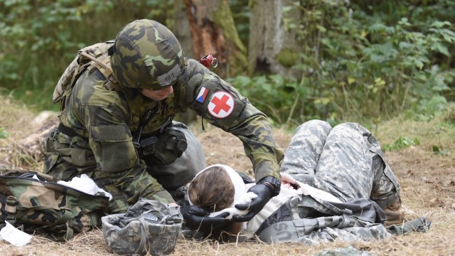 U.S. Army Europe  Expert Field Medical Badge 2017