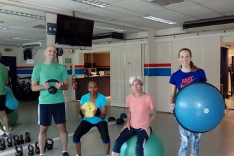Brussels community gets fit for IMCOM-Europe Fitness Day