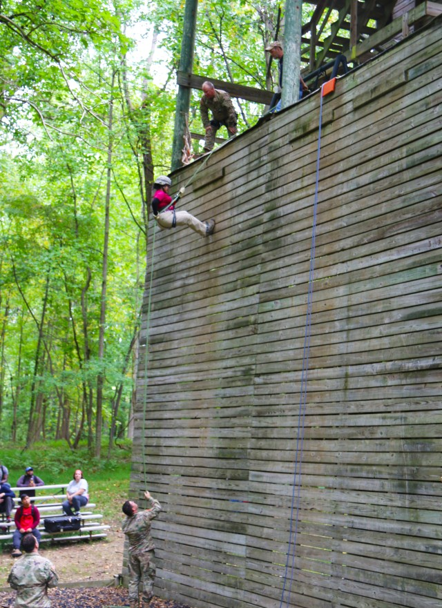Rappelling Tower