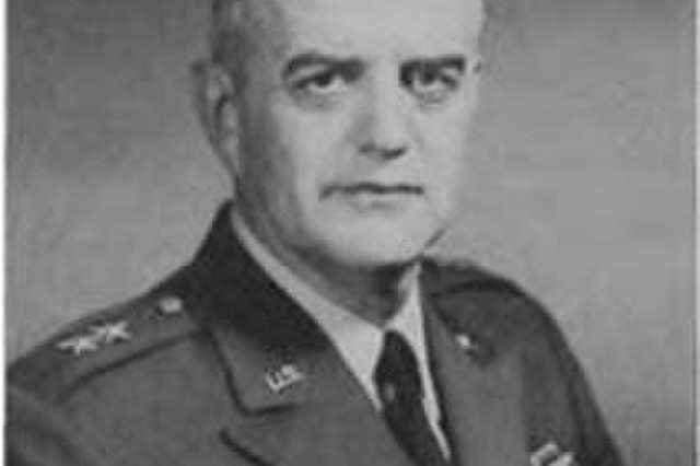 "BG I. Sewell (""Luke"") Morris, who as a colonel first commanded the Transportation Corps Army Aviation Field Service Office (TCAAFSO) when it became operational in Jan. 1953."