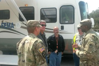 Fort Bragg contracting Soldiers support hurricane recovery