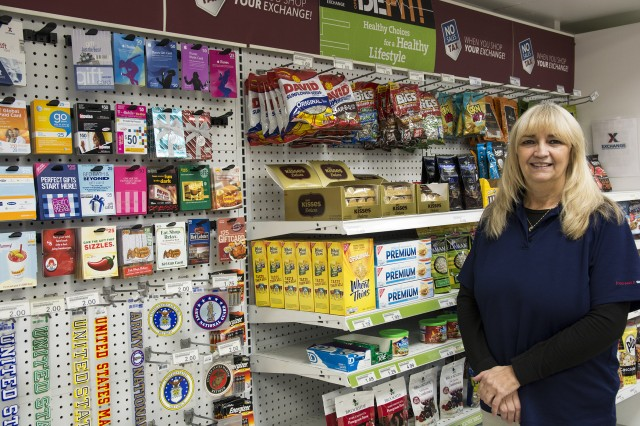 Pamela Hammond, the Arsenal's Express store manager, said she is excited about the new possibilities for Veterans to shop online and the benefits to the Arsenal that will come with those sales.