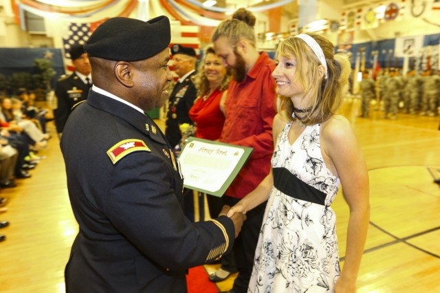 Fort Carson Post Retirement Ceremony