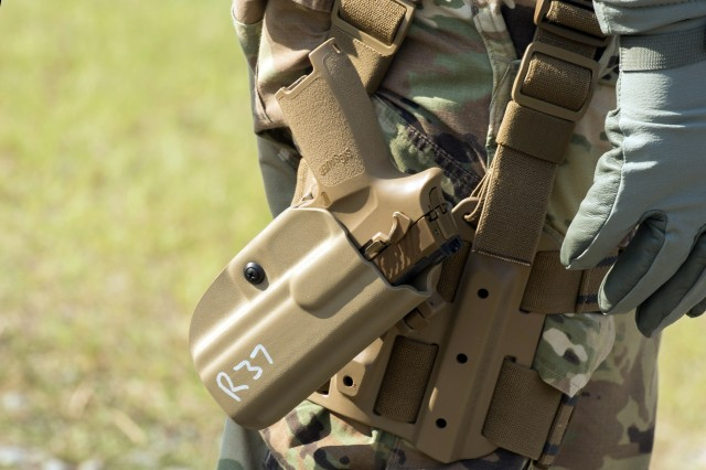 By November, the Army is expected to reach a conditional material release for the Modular Handgun System, and will issue some 2,000 of the pistols to the 101st Airborne Division at Fort Campbell, Kentucky.
