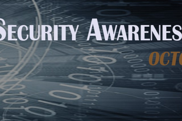 Cybersecurity Awareness Month 2017