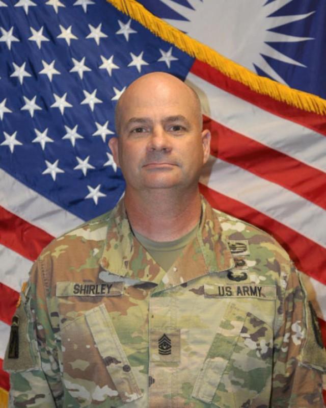 CSM Todd Shirley, USAG-Kwajalein Atoll