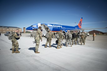 New York Army National Guard Soldiers depart state for Ukraine training mission