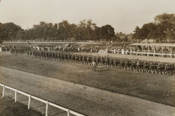 National Guardsmen of the 42nd Division were a weekend destination in the fall of 1917