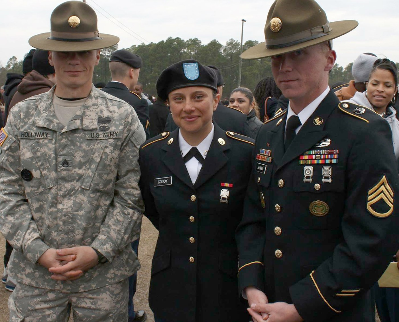 Muleskinner Soldier sets example of excellence during