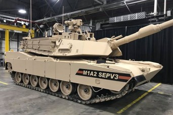Army rolls out latest version of iconic Abrams Main Battle Tank