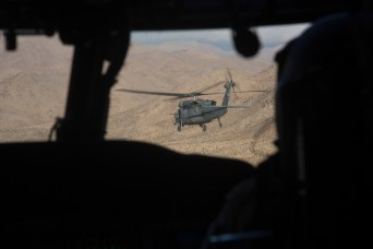 United Arab Emirates troops train at Fort Irwin