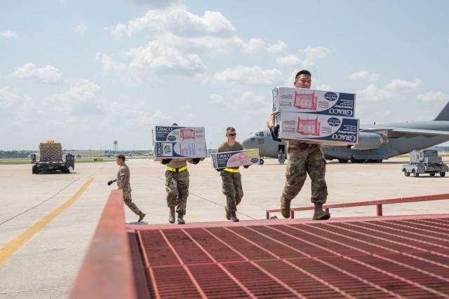 140th Movement Control Team back at JBLM after Harvey relief effort