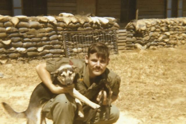 Sgt. Rose in Kontum, Vietnam, 1970.