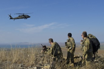'Isolated Knighthawk Soldiers' rescued by Romanian forces