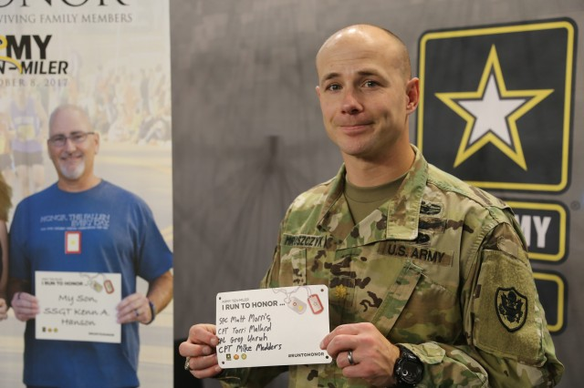 "Maj. Joe Mroszczyk planning his ""Run To Honor"""