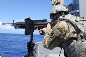 Move over, Navy! Army Mariners train for lethality on the open ocean