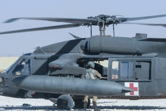 Supporting soldiers at remote sites with medical evacuation and care
