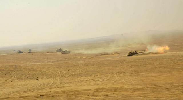 Cav Troopers Partner with UAE for Iron Union 5