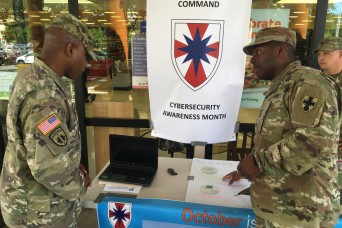 8th TSC Observes Cybersecurity Awareness Month