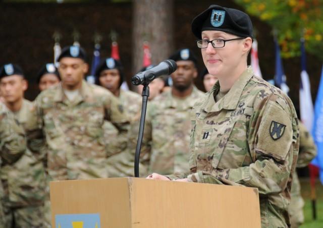 HHC commander leaves lasting positive impact