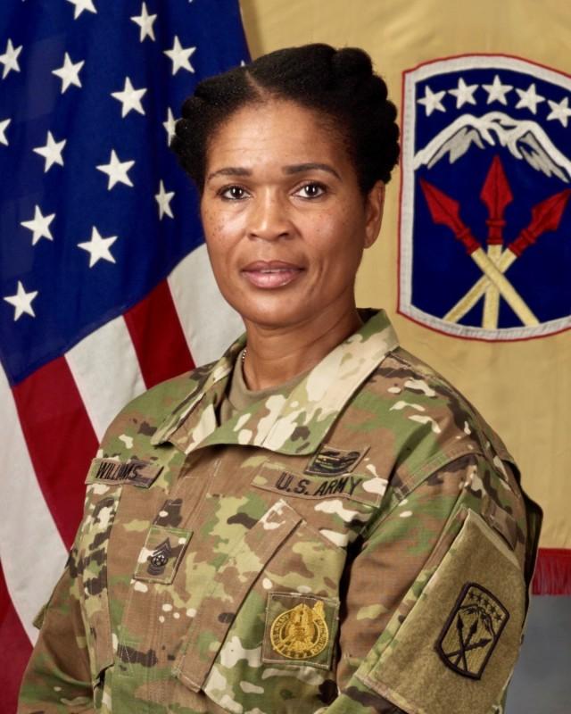 CSM Pamela Williams