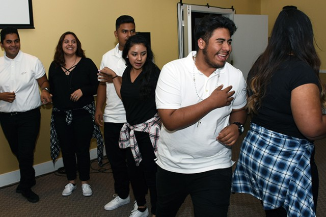 Music and dancing entertainment was provided by the Latinos in Action chapter at Stansbury (Utah) High School during the Hispanic Heritage Month Observance Oct. 5, 2017 at U.S. Army Dugway Proving Ground, Utah.