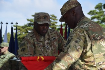 THAAD battery reflags to align with 35th ADA Brigade in South Korea