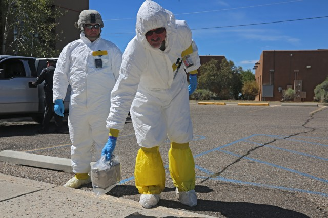 20th CBRNE Completes Multi-Agency Training Exercise